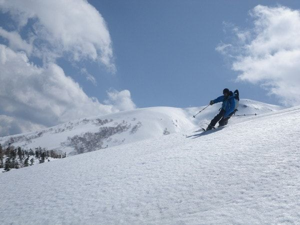 乗鞍岳スキーツアーコース