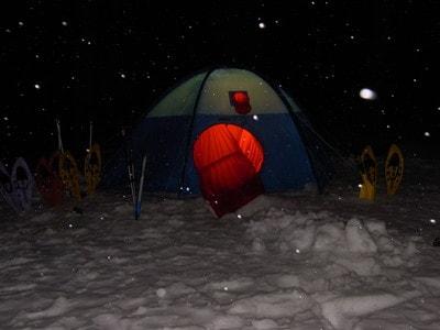 上高地スノーキャンプ